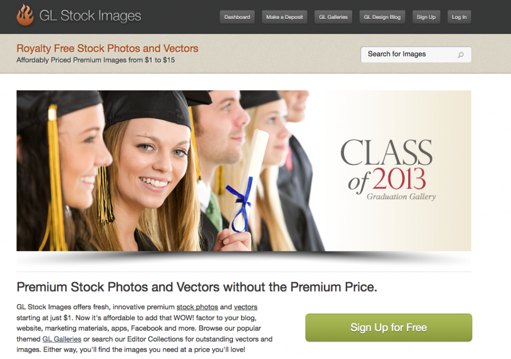 GL Stock Images - Homepage