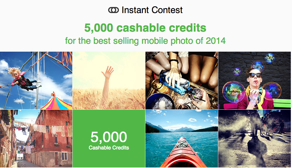 Fotolia launches Instant Contest, paying $1 per image and $5,000 for the bestseller