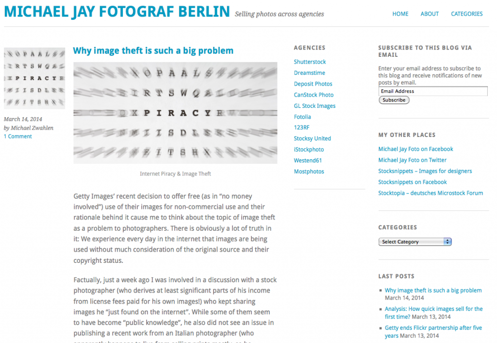 New design of this blog
