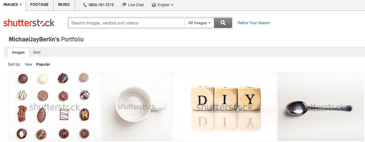 My Shutterstock portfolio
